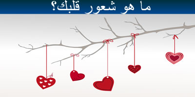 ما هو شعور قلبك؟