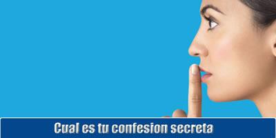 Qual é a sua confissão segredo?