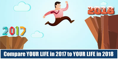 Compare Your Life In 2017 To Your Life In 2018