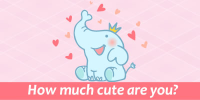 How Much Cute Are You?