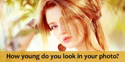 How Young Do You Look In Your Photo?