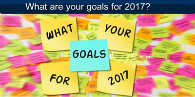 What Are Your Goals For The New Year 2017?