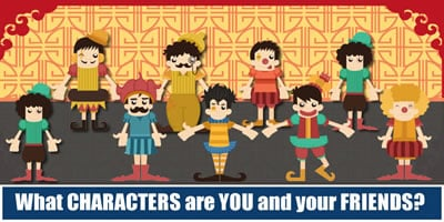 What Characters Are You And Your Friends?