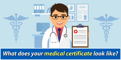 What Does Your Medical Certificate Look Like?