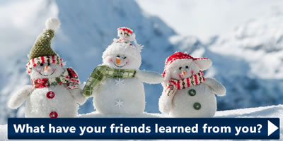 What Have Your Friends Learned From You?