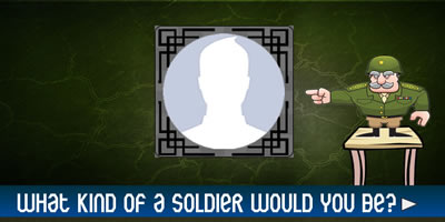 What Kind Of Soldier Would You Be?