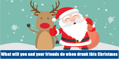 What Will You And Your Friends Do When Drunk This Christmas?