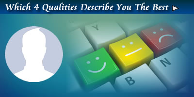 Which Four Qualities Best Describes You?