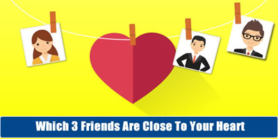 Which Friends Are Close To Your Heart?