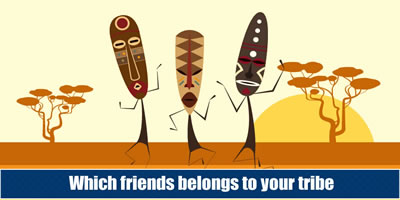 Which Friends Belongs To Your Tribe