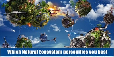Which Natural Ecosystem Personifies You Best?