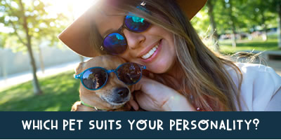 Which Pet Suits Your Personality?