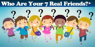 Which Are Your 7 Real Friends?