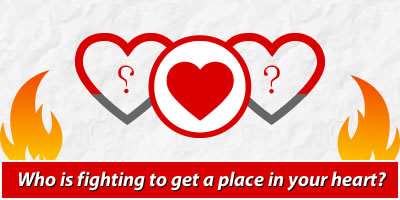 Who Is Fighting To Get A Place In Your Heart