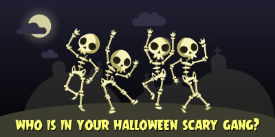 Who Is In Your Halloween Scary Gang?