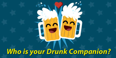 Who Is Your Drunk Companion?