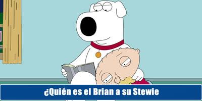 Quien es el cerebro de tu stewie?