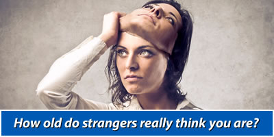 How Old Do Strangers Really Think You Are?