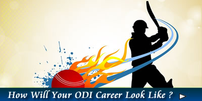 What Does Your Cricket ODI Career Look Like?