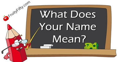 What Does Your Name Mean?