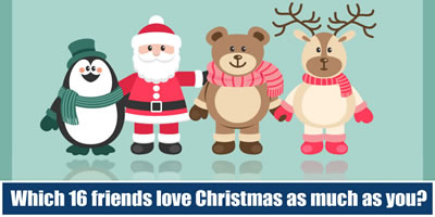 Which 16 Friends Love Christmas As Much As You