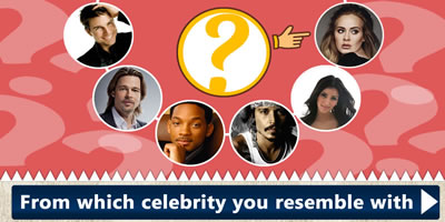 Which Celebrity Your Face Resembles With?