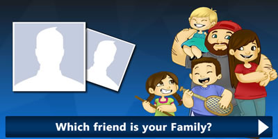 Which Friend Is Your Family?