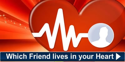Which Friend Lives In Your Heart? Find Out Now.