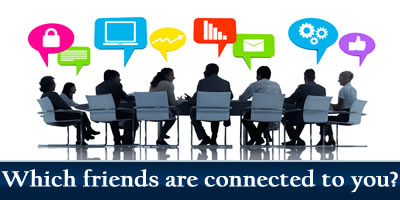Which Friends Are Connected To You?