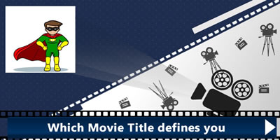 Which Movie Title Defines You?