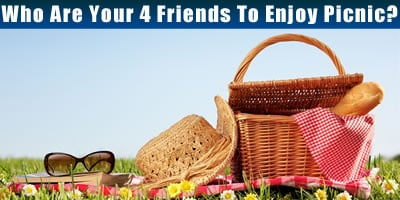 Who Are Your 4 Friends To Enjoy Picnic