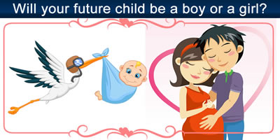 Will Your Future Child Be A Boy Or A Girl?
