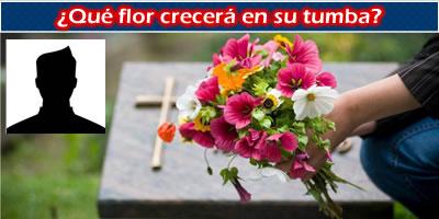 Que florecen crecerá en su tumba?